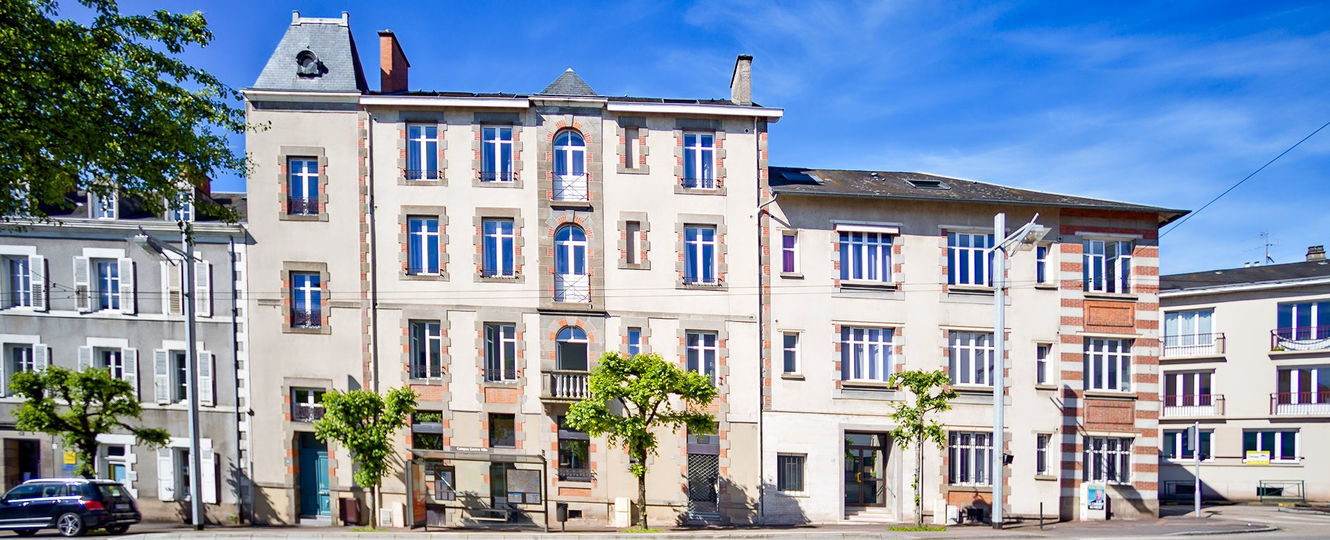 Rental studio apartment in Limoges